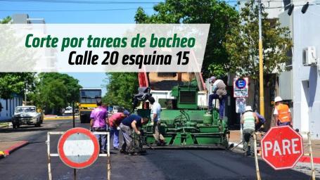 CORTES DE CALLES POR TAREAS DE BACHEO