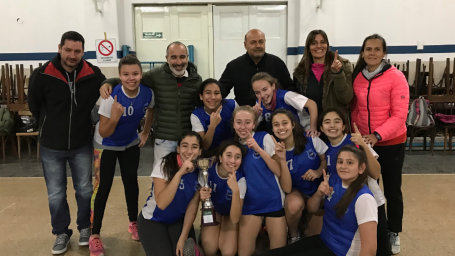 El intendente participó de premiaciones en los Juegos Estudiantiles Pampeanos