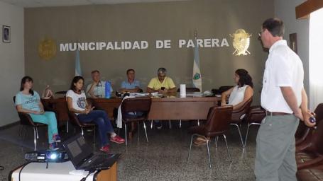 Se reunió el grupo Regional de Arbolado Urbano
