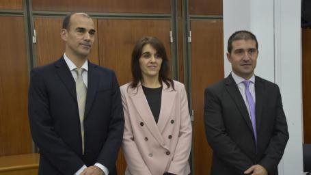 El intendente estuvo presente en la toma de juramento de nuevos jueces en General Pico