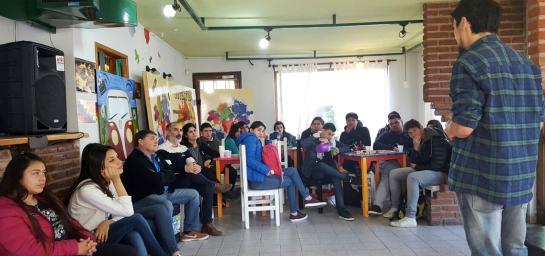 Comenzaron las charlas denominadas Emprendedores Jóvenes