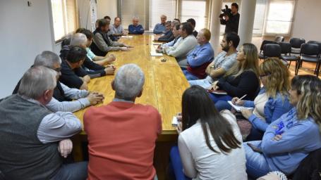 Intendentes de la microrregión II se reunieron para tratar la disposición final de los residuos