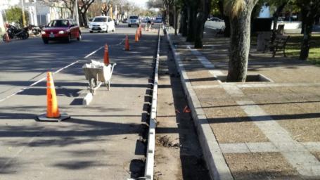 Este lunes permanecerá cortada la calle 16 entre 7 y 9