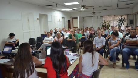 FUNCIONARIOS LOCALES REALIZARON CAPACITACIÓN CON PERSPECTIVA DE GÉNERO