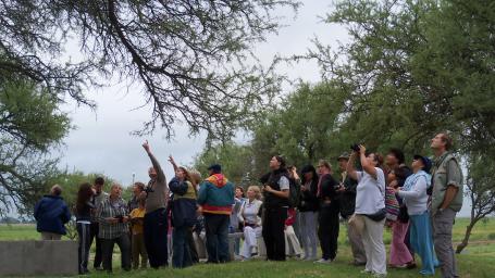 Este domingo habrá observación de aves en la Reserva Natural Benicio Delfín Pérez