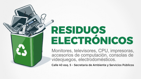 Campaña de acopio y gestión de residuos eléctricos y electrónicos