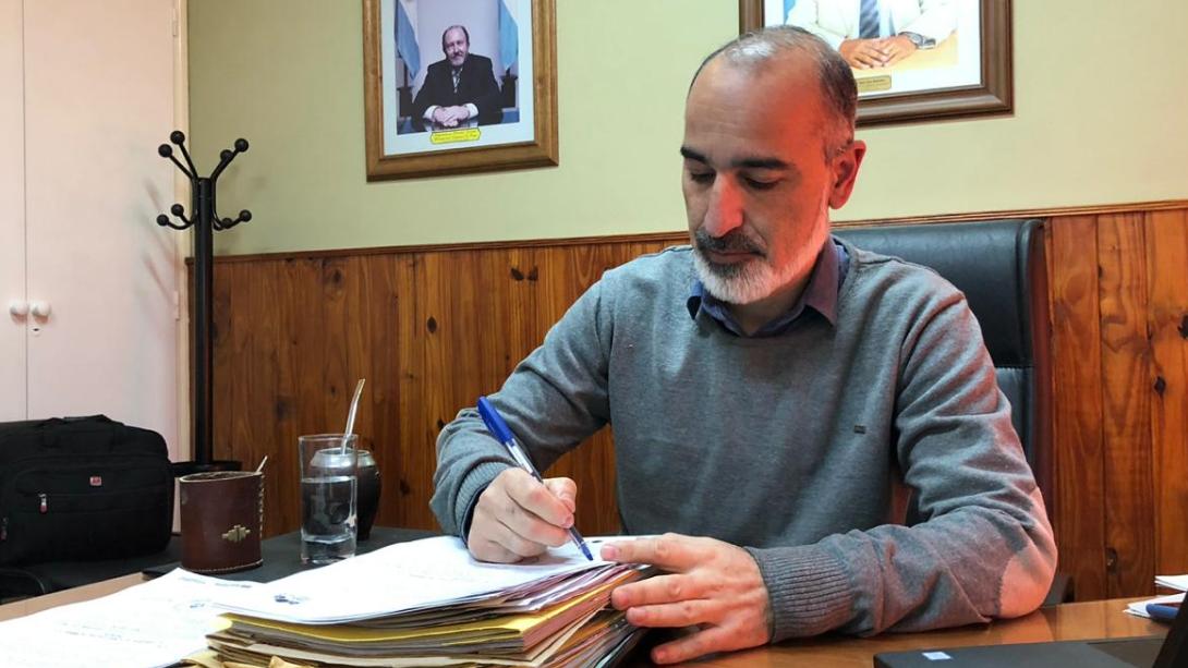 El municipio firmó un convenio con la Facultad de Ciencias Humanas para ejecutar prácticas profesionalizantes