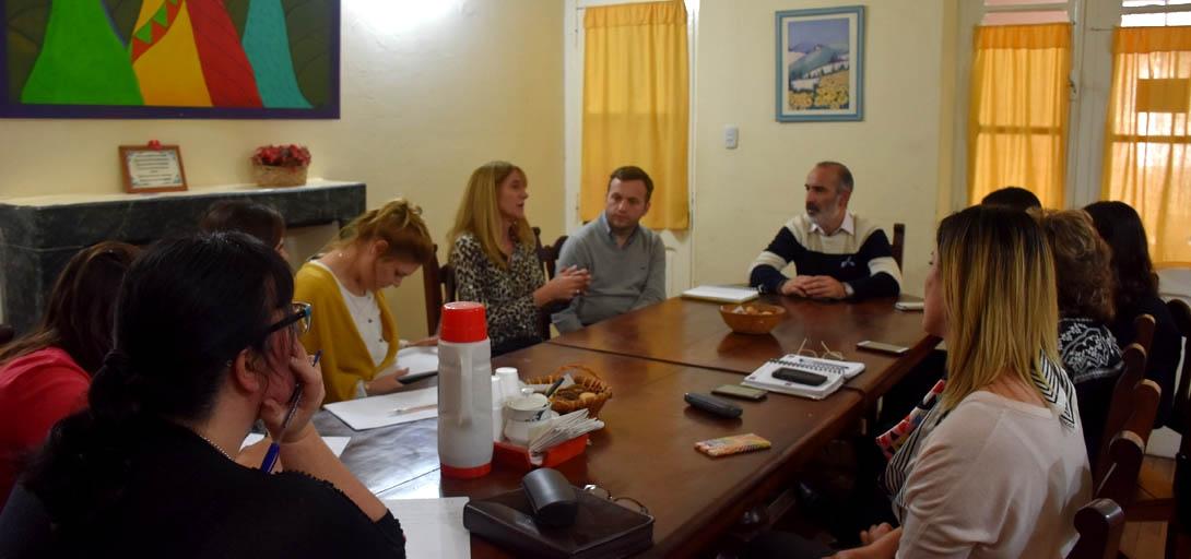 Referentes del Hogar de Madres se reunieron con la Procuración General de la provincia