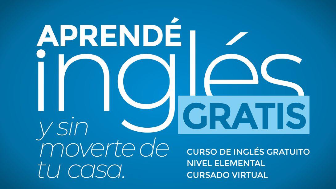 Dictarán un curso virtual de inglés gratuito