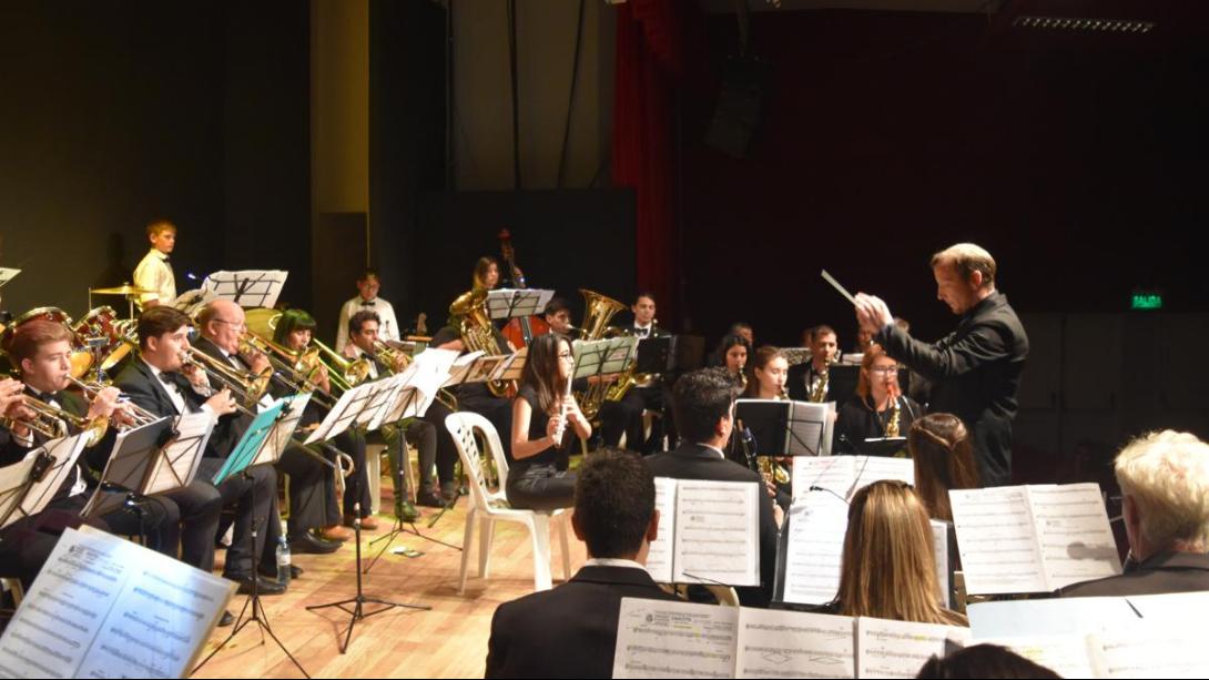 El Ensamble de Vientos y Percusión realizará un concierto en Santa Rosa