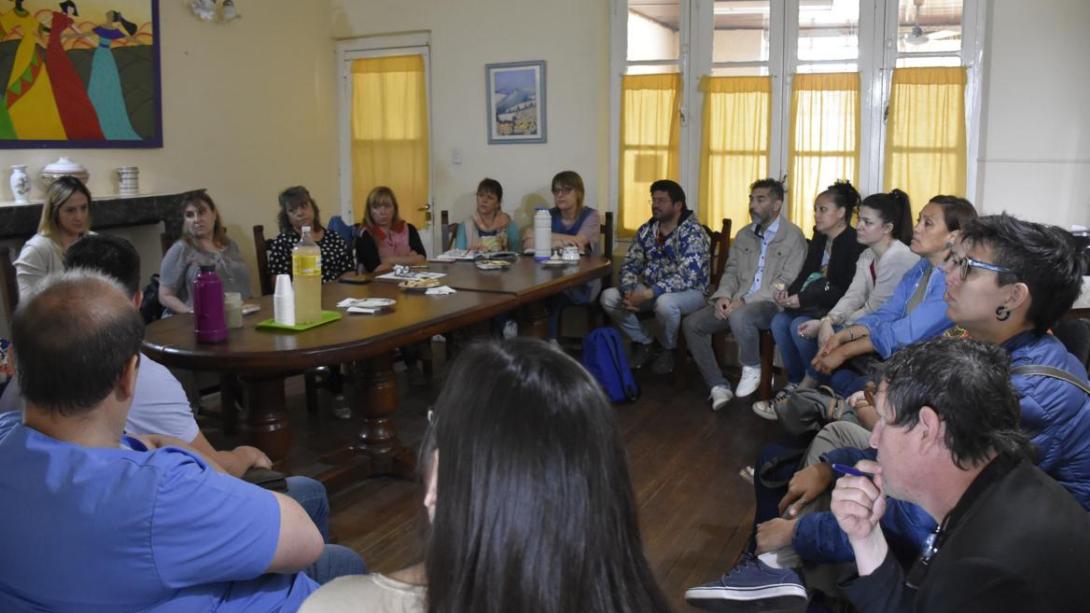 Desarrollaron nuevo encuentro de la Comisión Municipal de Políticas de Género