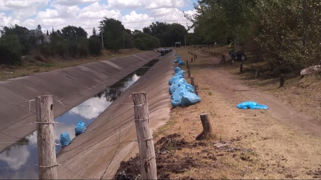 EJECUTAN TRABAJOS DE LIMPIEZA DE CANALES EN TODA LA CIUDAD