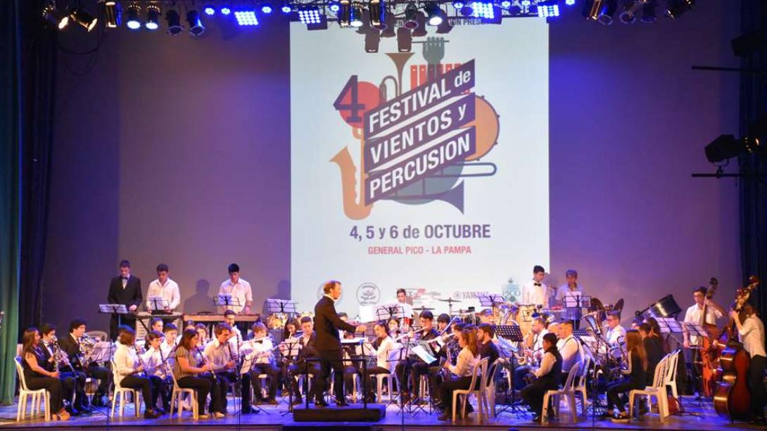 Culminó con éxito el 4º Festival de Vientos y Percusión