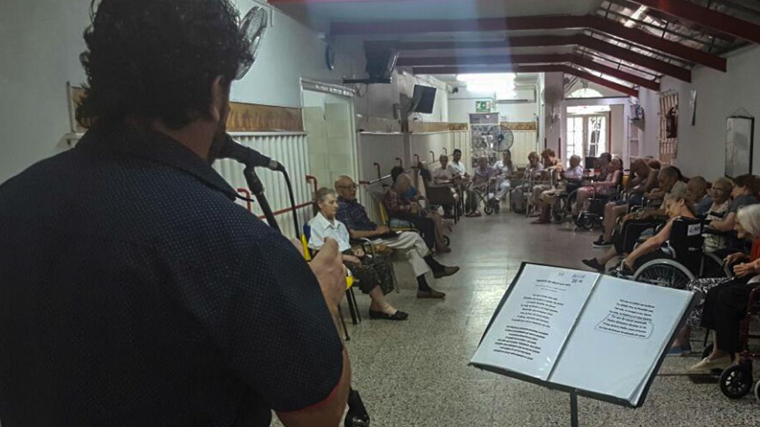 Escenario Abierto llegó con su música al Instituto San Ubaldo
