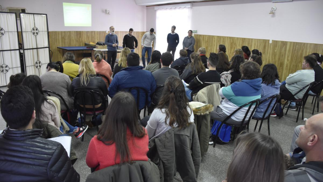 Emprendedores participaron de una capacitación en administración de redes sociales