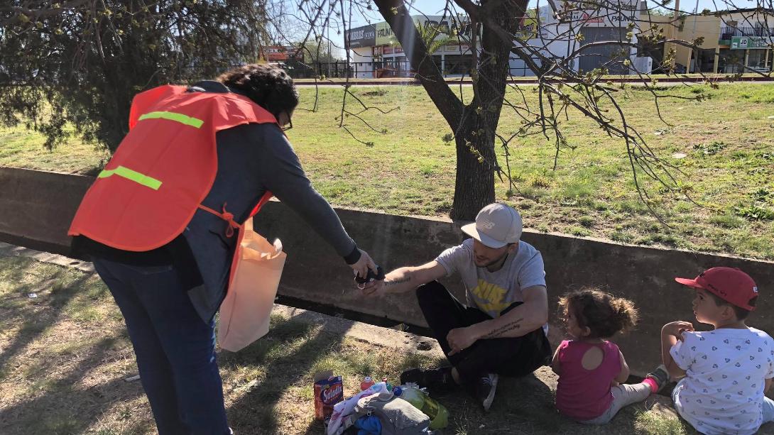 CAMPAÑA DE SENSIBILIZACIÓN SOBRE EL USO DEL TAPABOCA