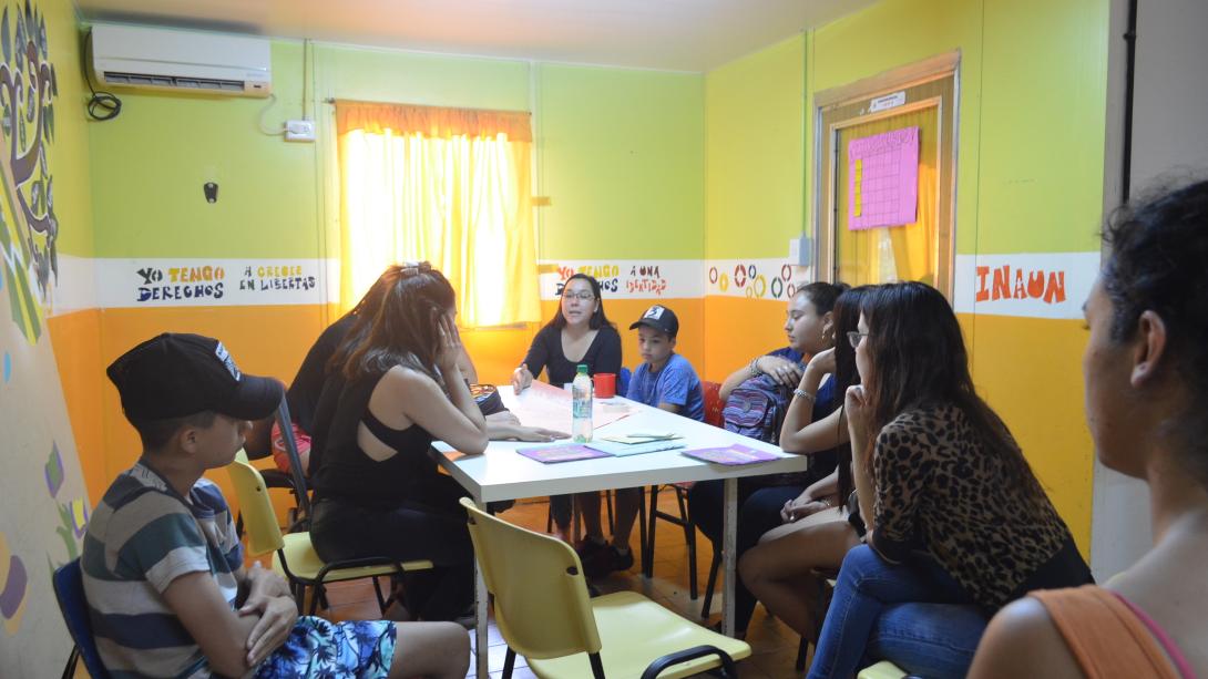 """Dictaron en INAUN el taller """"Vínculos Libres de Violencia"""""""