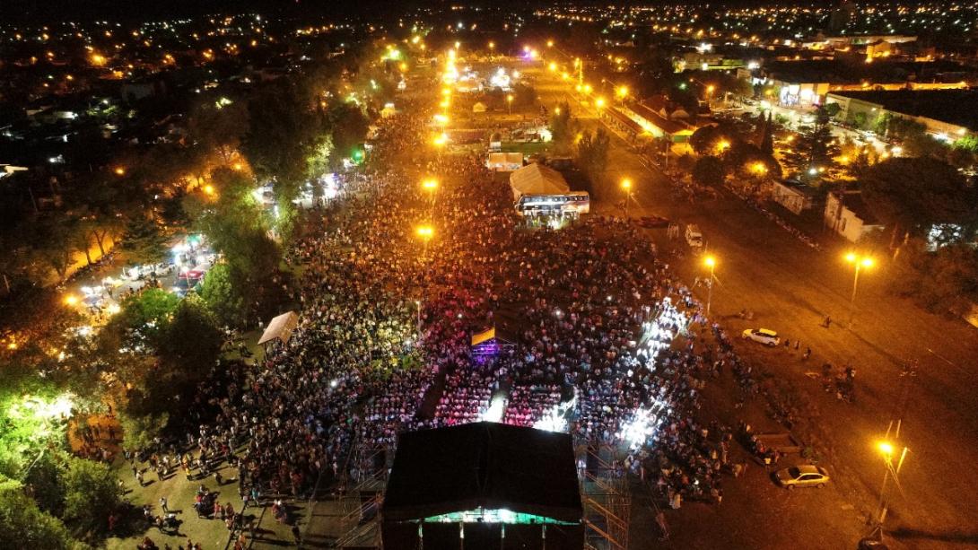 Exitosa Fiesta Aniversario de General Pico