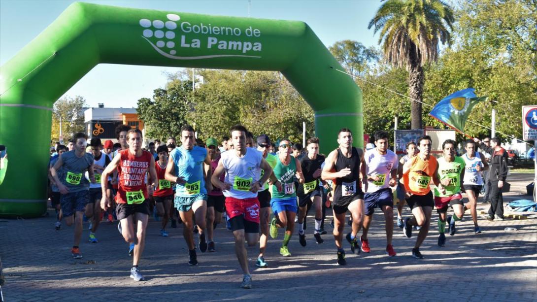 Se corrió  la maratón ciudad de General Pico