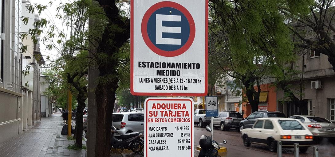 A partir de este lunes cambiará el horario del estacionamiento medido