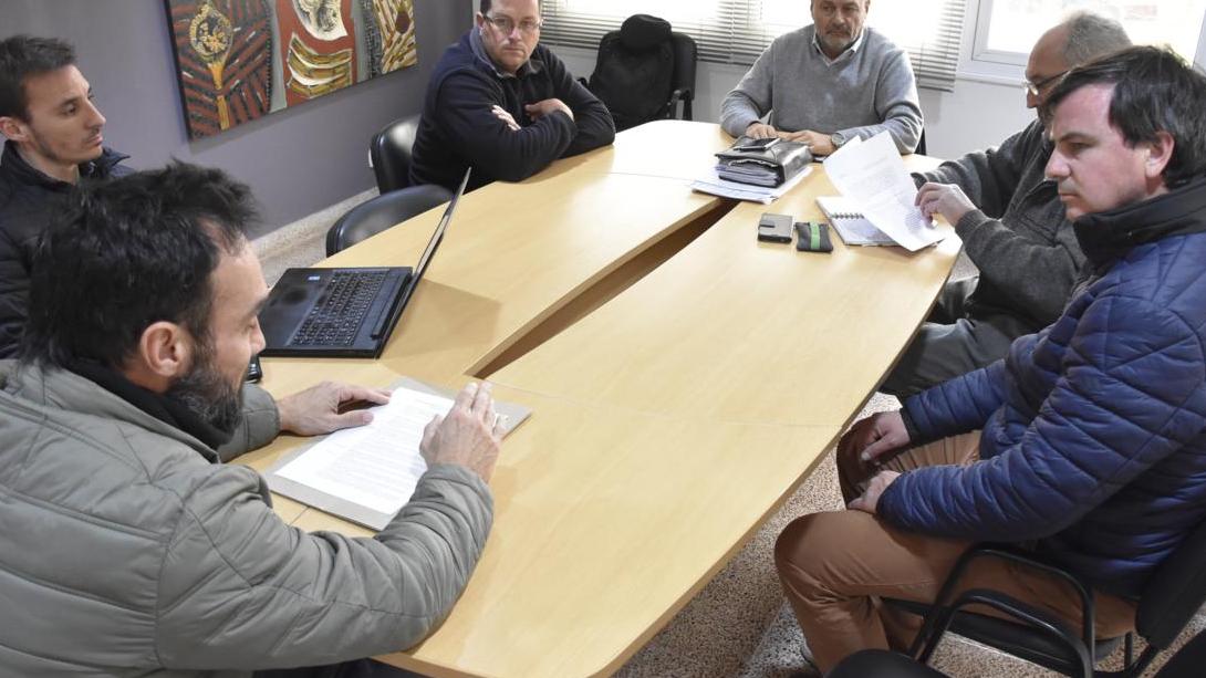 Se concretó una nueva reunión por el tratamiento de Caminos Vecinales