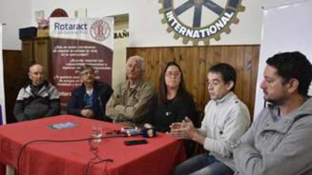El Rotary Club realizará una caminata en beneficio del Hogar de Ancianos Don Bosco