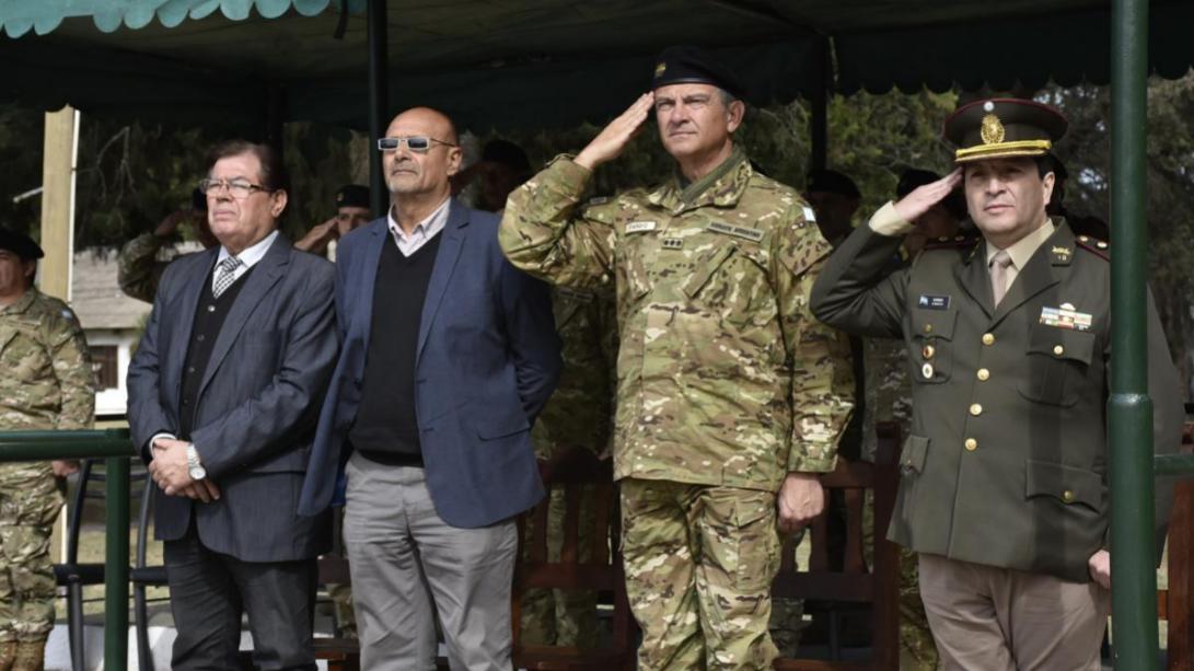 El Regimiento Tanques 13 celebró el Día del Arma de Caballería