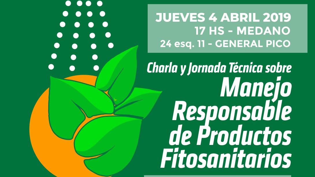 Dictarán charla sobre Manejo responsable de productos fitosanitarios