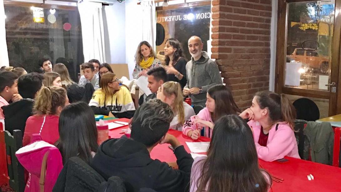 Continúa con éxito el taller de orientación vocacional en Juventud
