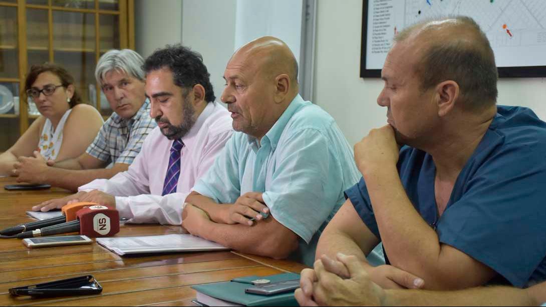 El intendente Rainone recibió al subsecretario de Salud de la provincia