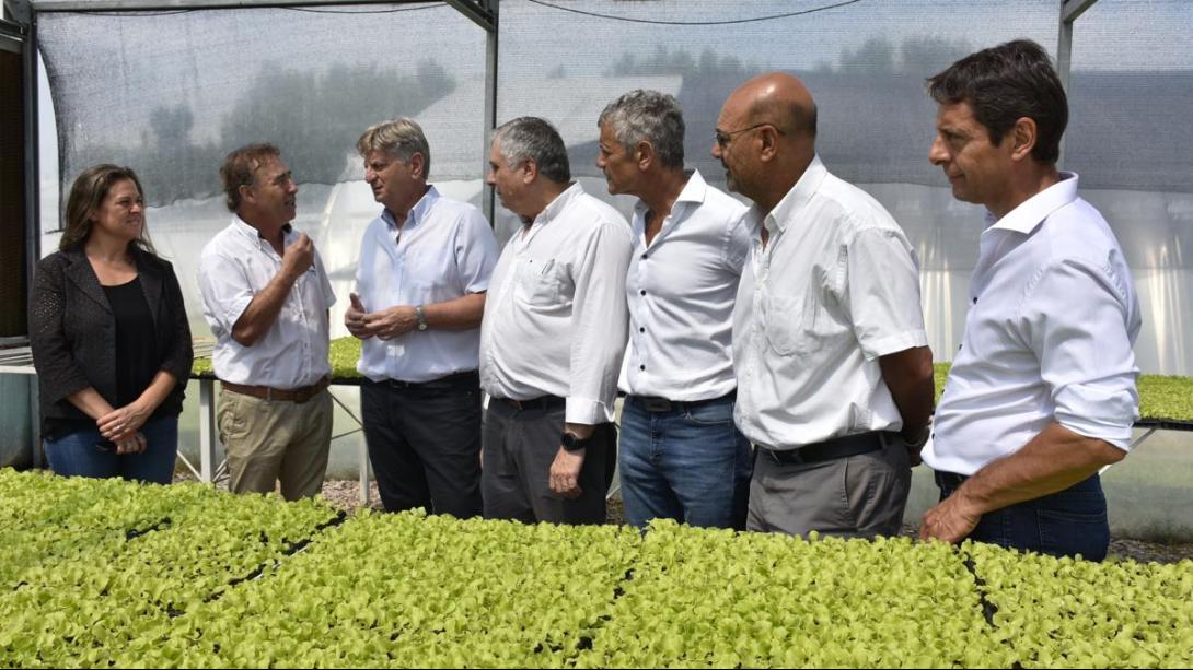 Autoridades visitaron las instalaciones del CERET