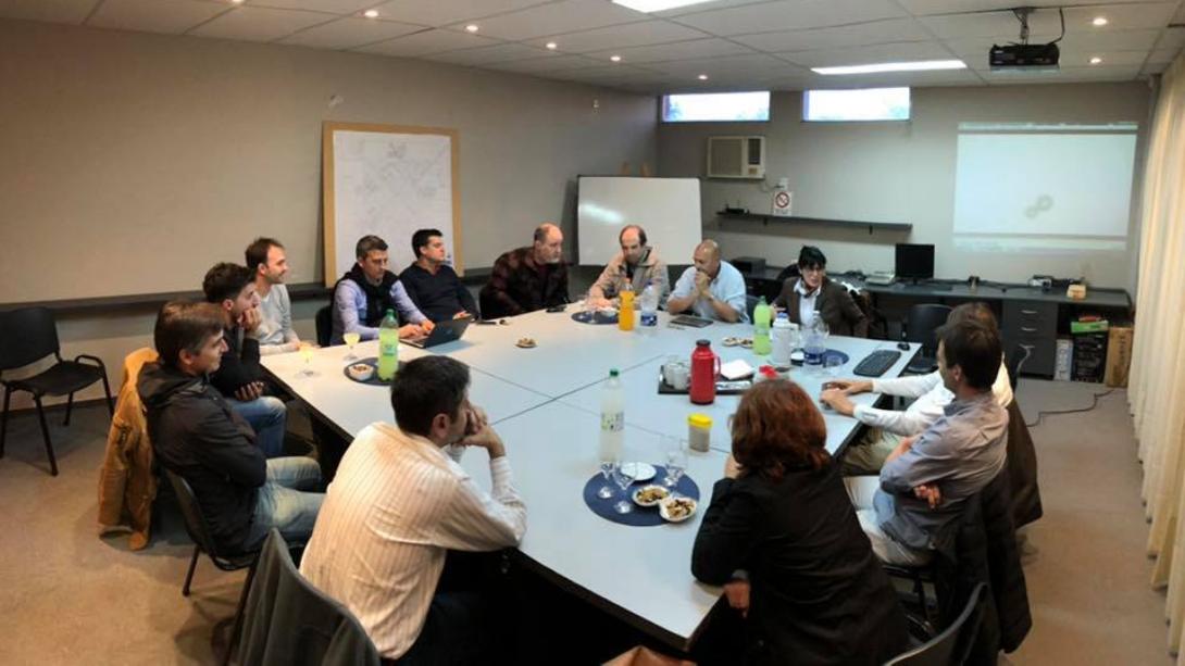 Nueva reunión delIntendentecon el sector empresarial