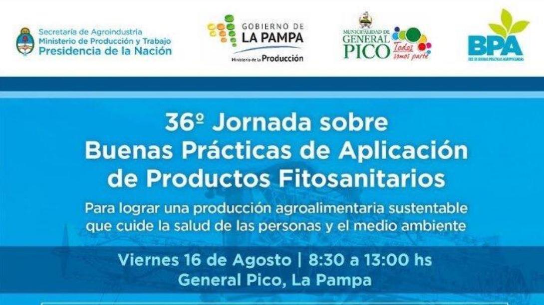 Brindarán una capacitación sobre buenas prácticas de aplicación de productos fitosanitarios