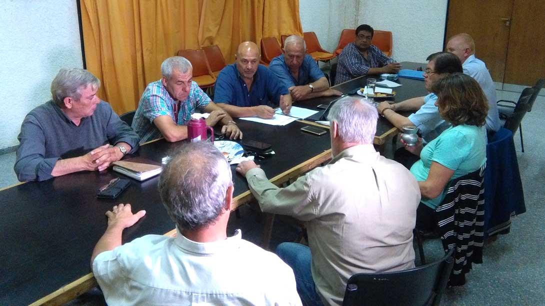 Se reunieron en Trenel los intendentes de la Micro Región II