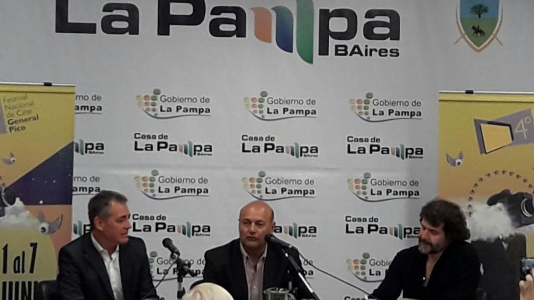 Presentación del Festival de Cine en Buenos Aires