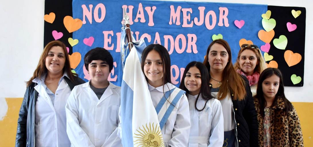 Se conmemoró el Día del Maestro en la Escuela N° 264