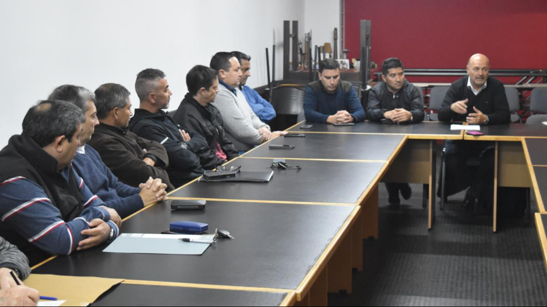 Se reunió la Junta Municipal de Defensa Civil