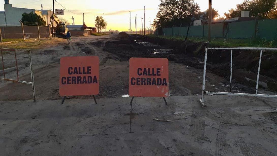 DESDE ESTE VIERNES HABRÁ CORTES DE CALLES POR OBRAS EN LA CIUDAD